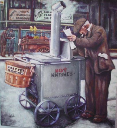 Knish Man Giclee L/E OF 50 35
